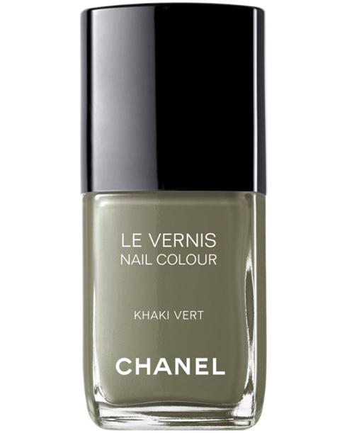 Le Rose Aux Joues 187 La Collection De Vernis Les Khakis De Chanel