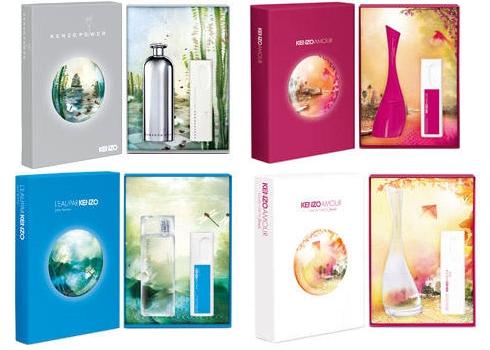 le rose aux joues les jolis coffrets de parfum kenzo de no l 2010. Black Bedroom Furniture Sets. Home Design Ideas