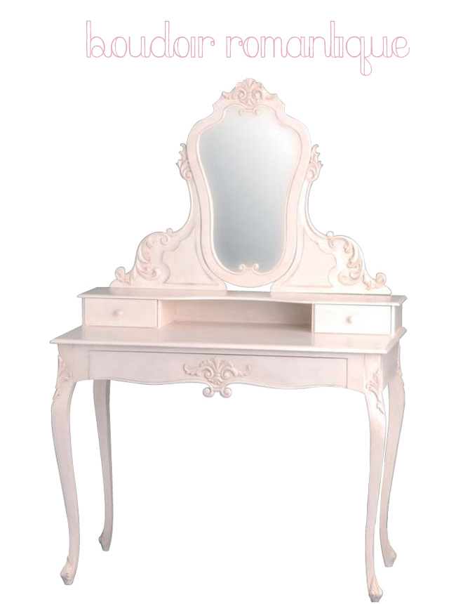 le rose aux joues a chacune sa coiffeuse coiffeuse tiroirs blanche joy maisons du