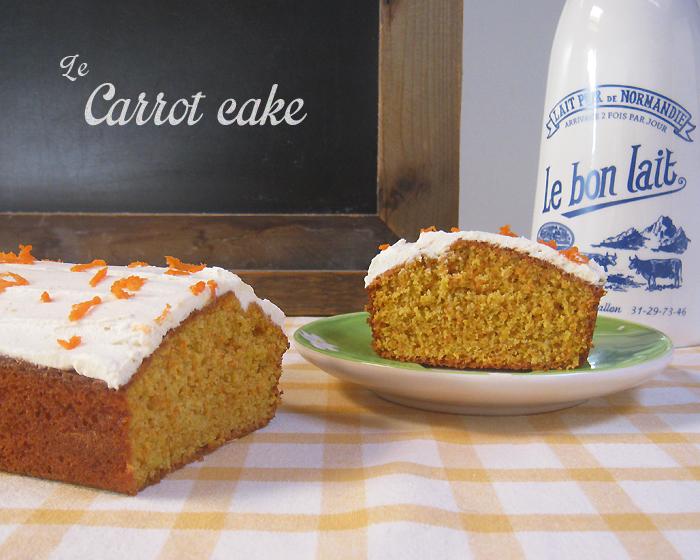 Le rose aux joues le g teau avec des carottes dedans - Recette carrot cake americain ...